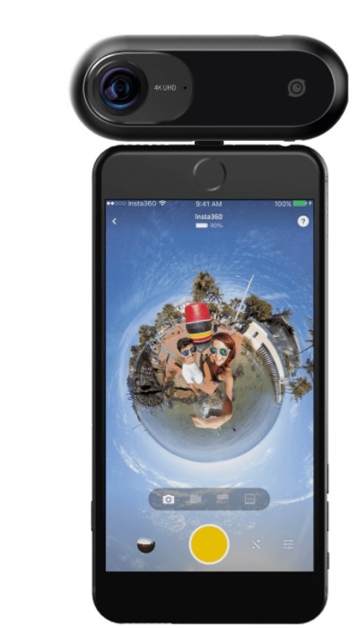 Insta 360 ONE 4K 運動攝影機