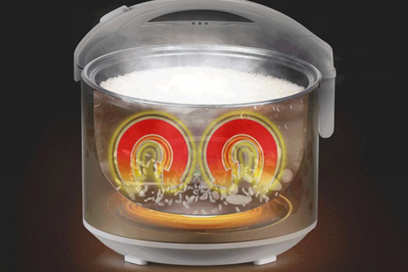 現代 - 1.5L 五層內膽電飯煲 - HY-DR15