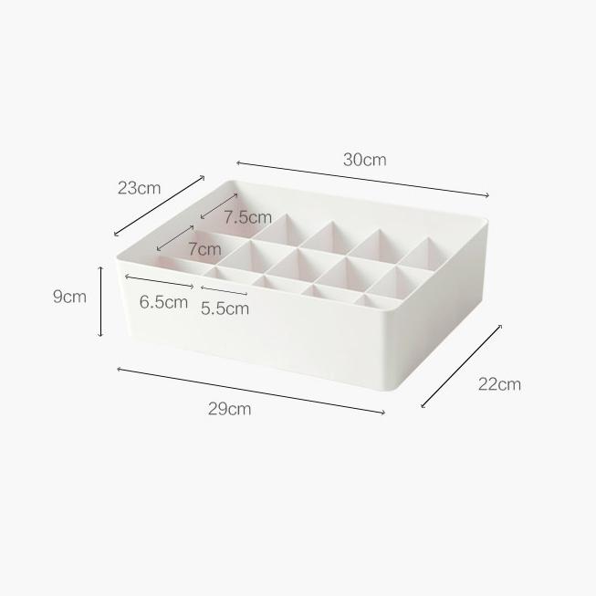 簡潔內衣收納盒 [3款]