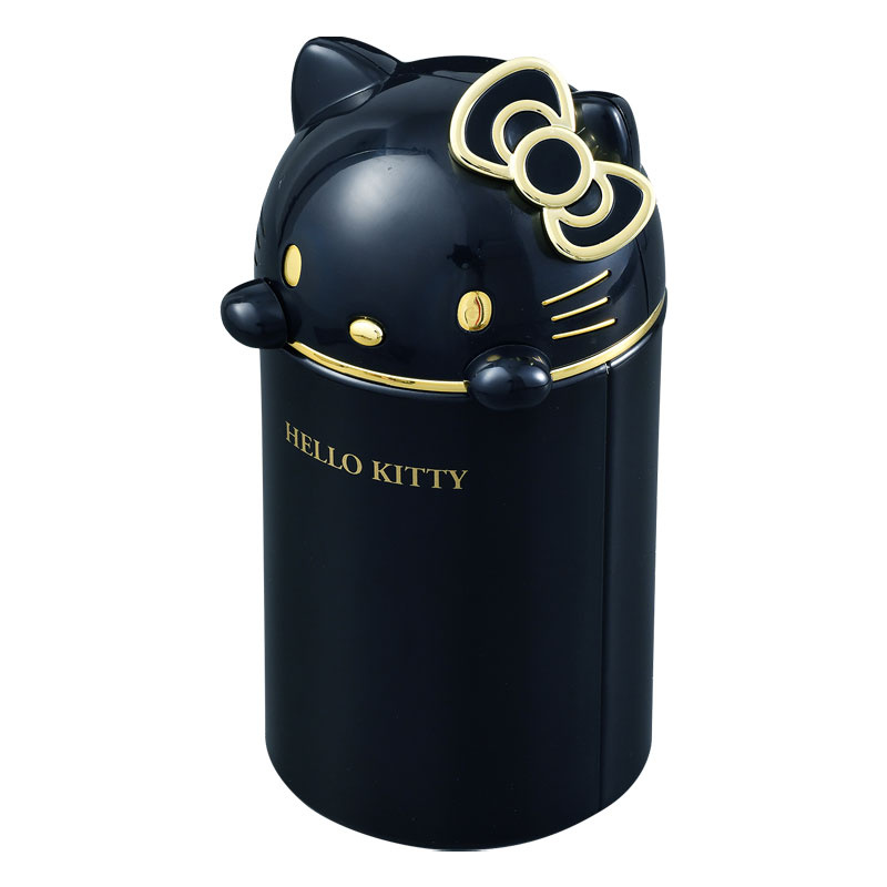 日本SANRIO Hello Kitty 桶形收納盒