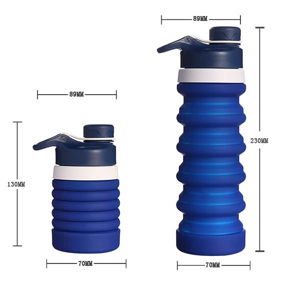 伸縮運動水樽 [4色]