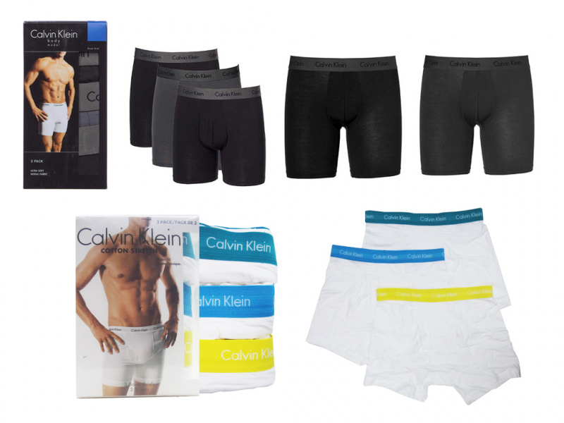 Calvin Klein 男士 Boxer 三件裝 [3款]
