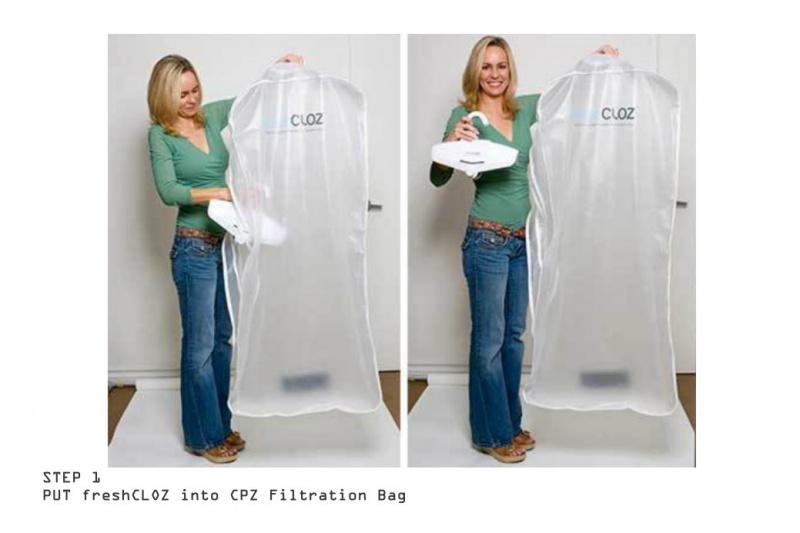 FreshCLOZ 衣服臭氧除味殺菌機套裝