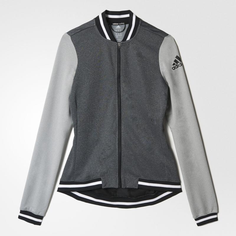 Adidas WG ANTHEM 女裝 長袖 單車衫 灰/黑/白