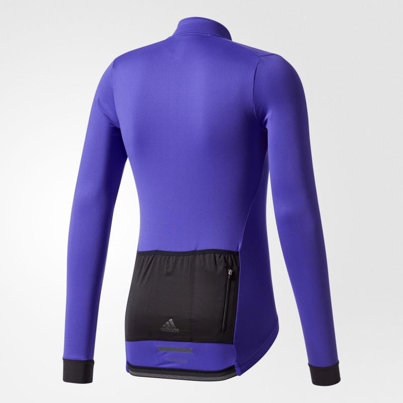 Adidas WG Supernova Climachill 長袖 單車衫 紫色
