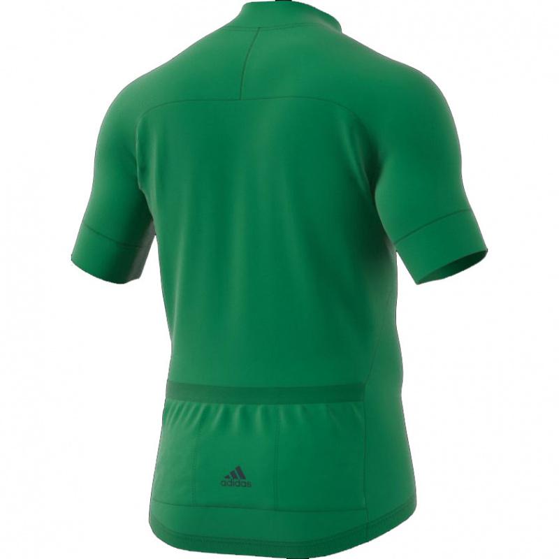 adidas RAD Men 短袖 單車衫 綠色/深綠色