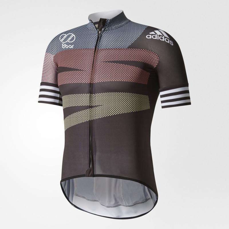 Adidas WG RAD.TR 8BAR 短袖 單車衫 黑色