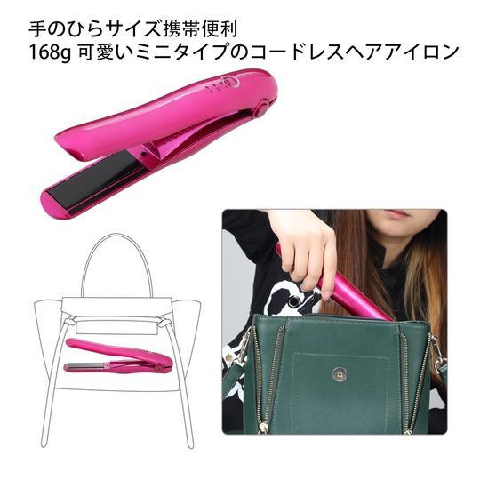 NexGadget 便攜型USB充電兩用電髮夾