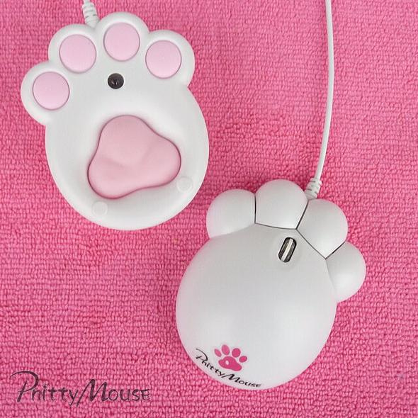 Pnitty Mouse 貓貓肉球治癒系Mouse