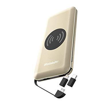 iRainbow iPW10 10000mAh Qi無線充電 多合一外置充電器