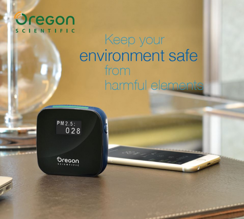Oregon Smart Air Monitor SHE101 智能空氣監察儀