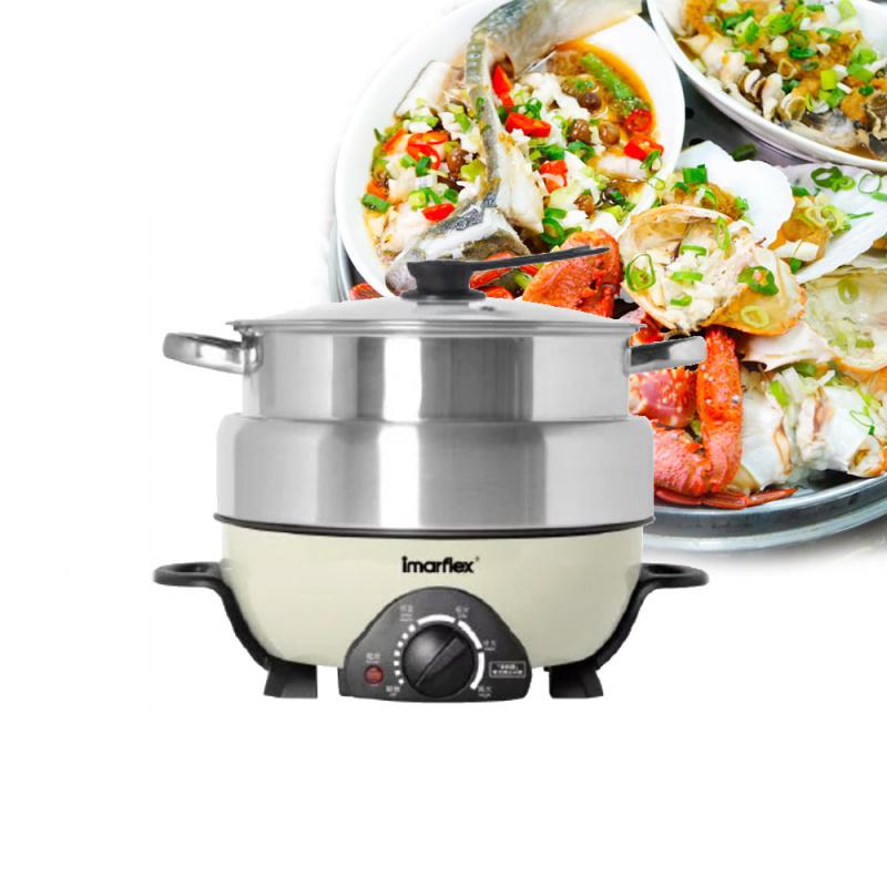 Imarflex 伊瑪牌 IMC-50D 5L 鮮料理蒸煮火鍋