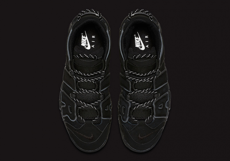 "Nike Air More Uptempo ""Reflective"" 男裝鞋 [黑色]"