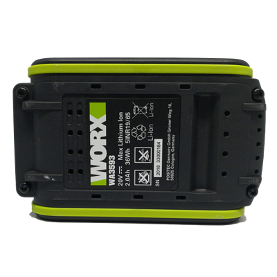 香港行貨 WORX WA3593 20V 2.0A 充電池