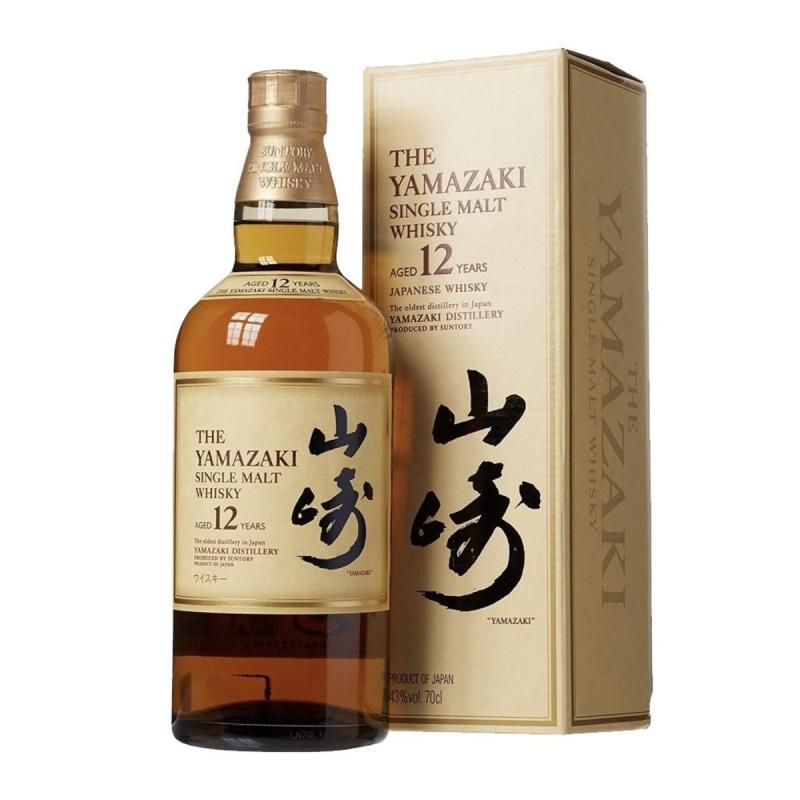 山崎12年 單一麥芽威士忌 盒裝