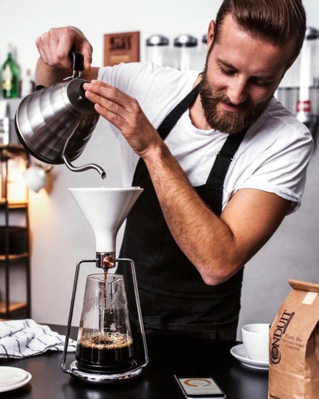 GOAT STORY GINA 手沖智慧咖啡壺 法式濾壓壺 冰滴咖啡壺 手沖濾杯組 V60濾紙 電子秤功能結合手機app