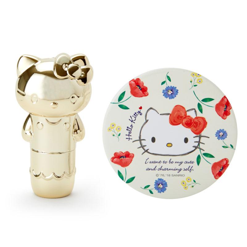 日本SANRIO Hello Kitty 唇膏镜子套装 [3款]