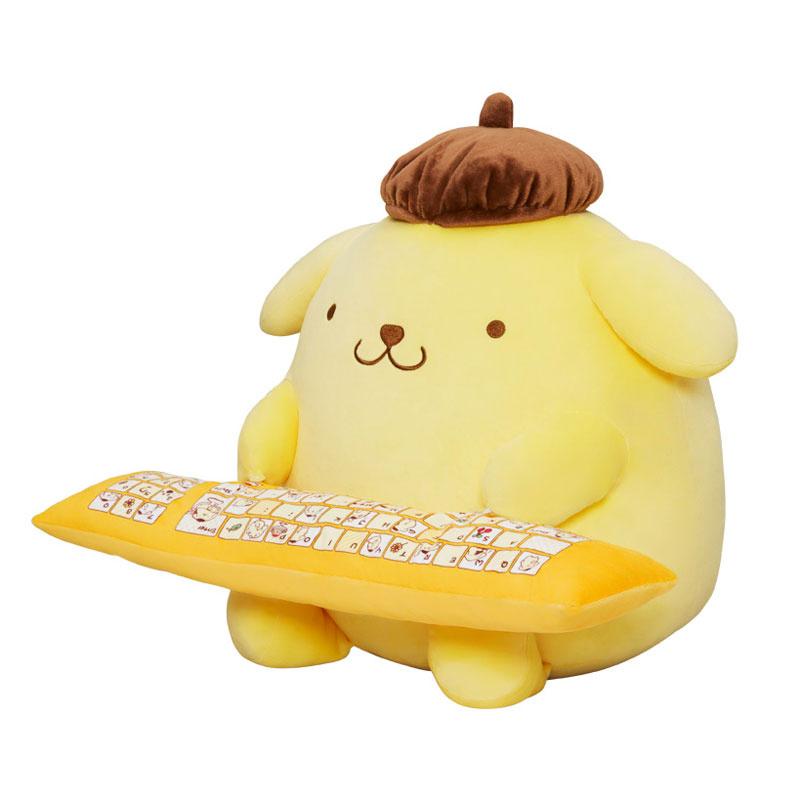 日本SANRIO 布甸狗3WAY攬枕