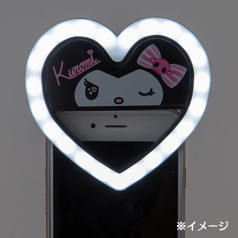 日本SANRIO Kuromi 手機自拍補光燈