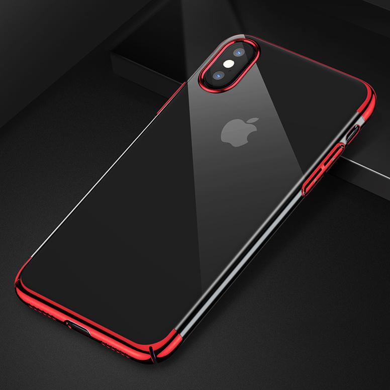 iPhone XS / XS MAS 超薄透感CASE [2款] [4色]