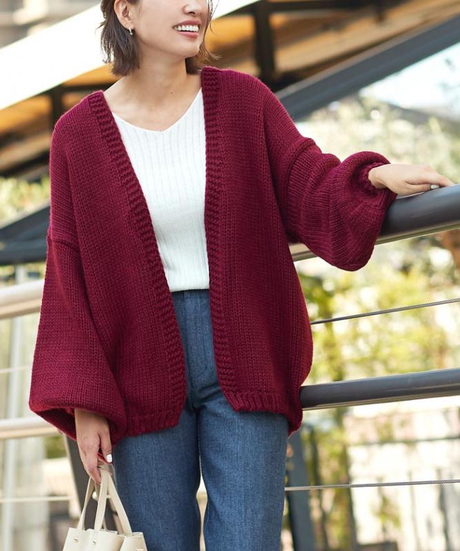 日本ニットカーディガン針織毛衣 [5色]