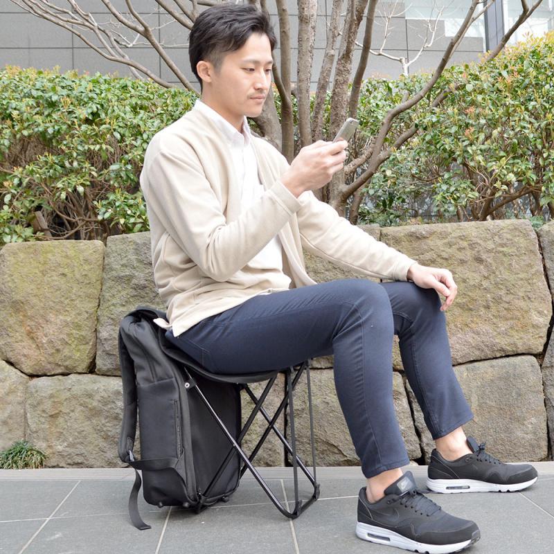 日本ぱっと変身坐椅背囊