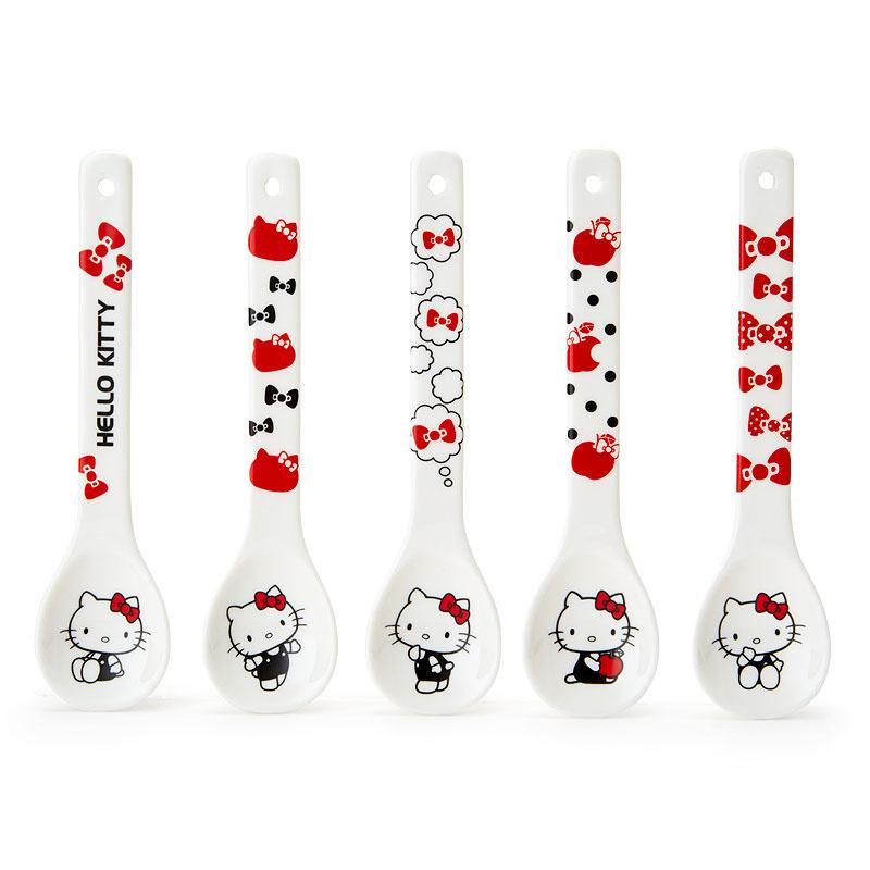 日本SANRIO Hello Kitty 匙5枚套裝