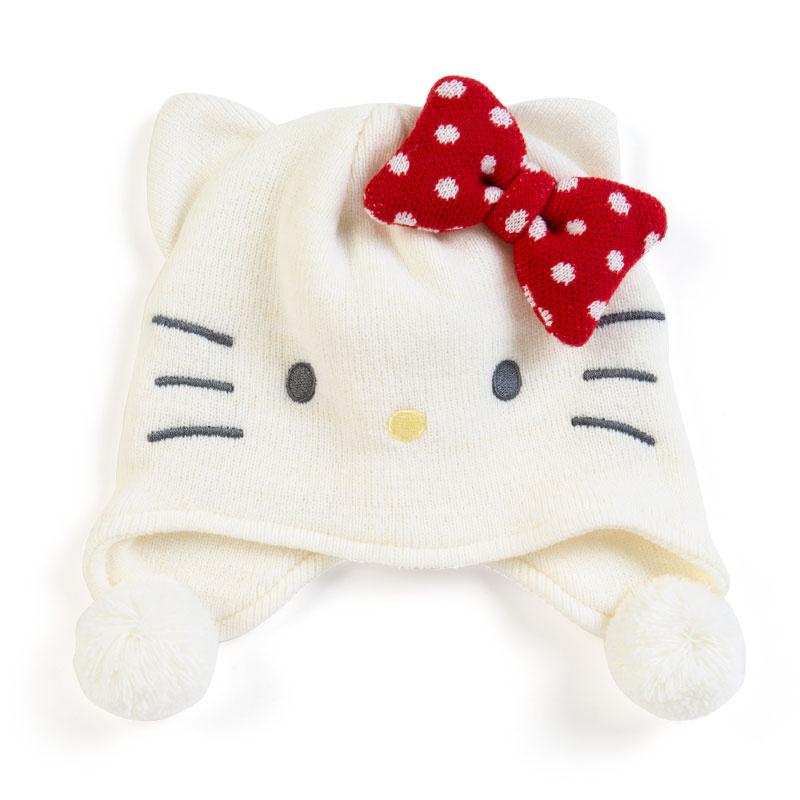日本SANRIO Hello Kitty 造形ニット帽 [2款]