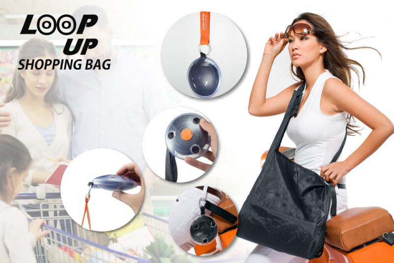 LOOP UP 旋轉式收納環保購物袋
