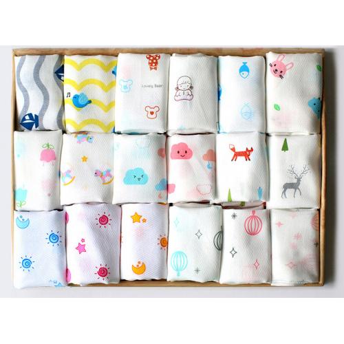 Cocobebe 韓國製純棉紗巾 (10條裝)