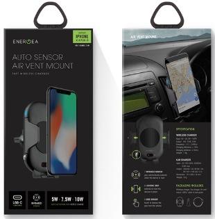 ENERGEA WiMount Sense - Air Vent Mount 無線充電自動感應出風口支架
