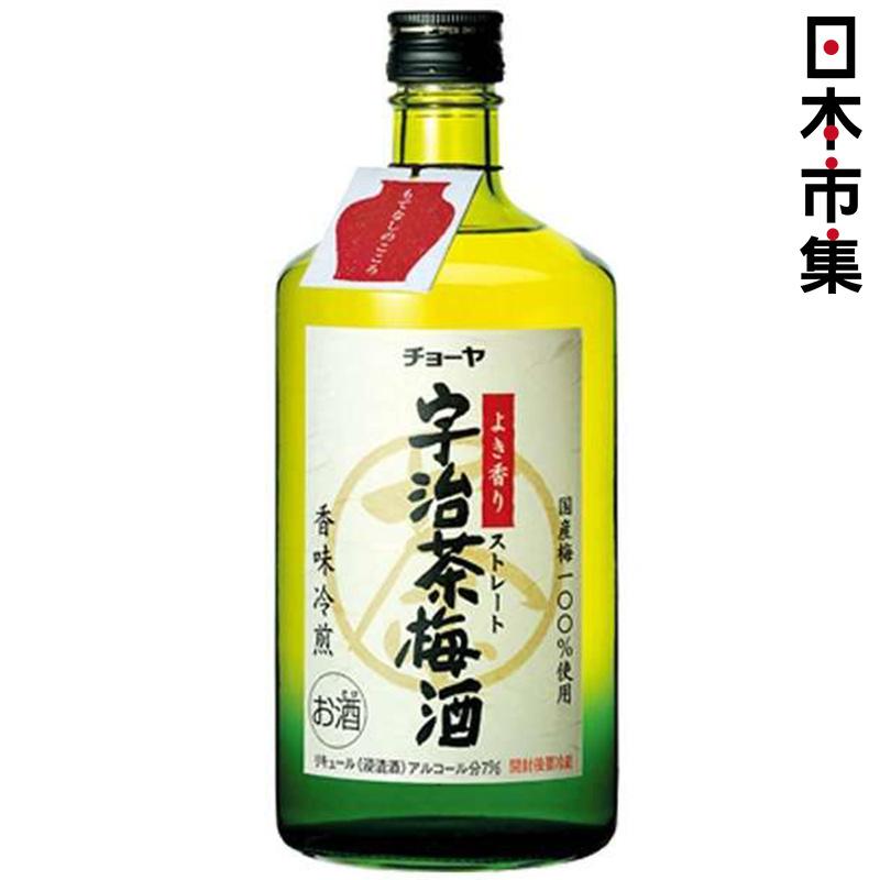 日版 Choya 宇治綠茶梅酒 720ml【市集世界 - 日本市集】