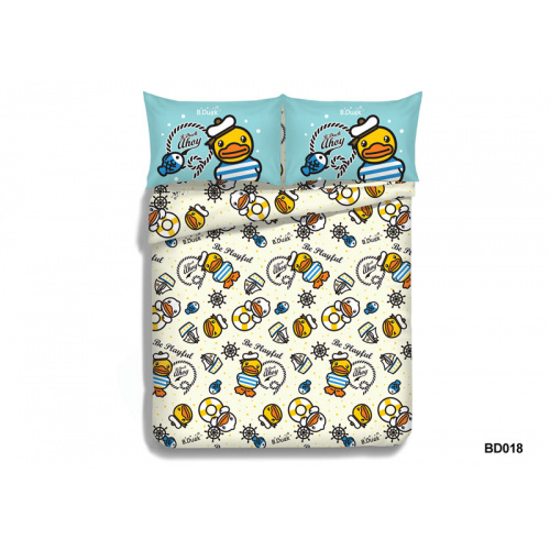 Casablanca B.Duck BD018 780針卡通活性印花純棉系列套裝 [4尺寸]