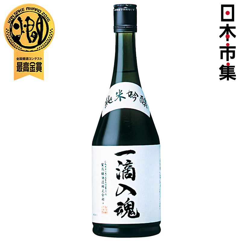 日版 賀茂鶴《一滴入魂》純米吟醸 清酒 720ml【市集世界 - 日本市集】