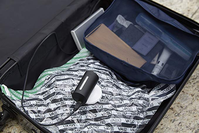 Kicker明星產品 Vago 旅行抽真空壓縮收納神器套裝 [4色]