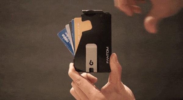 加拿大Ansix Designs Fantom 隱藏硬幣卡片最薄銀包