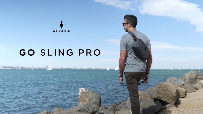 澳洲 Alpaka Go Sling Pro 多功能便攜側肩包 [3色]