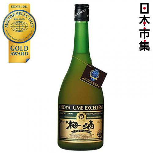 日版 Choya Excellent 至尊白蘭地梅酒 750ml 【市集世界 - 日本市集】