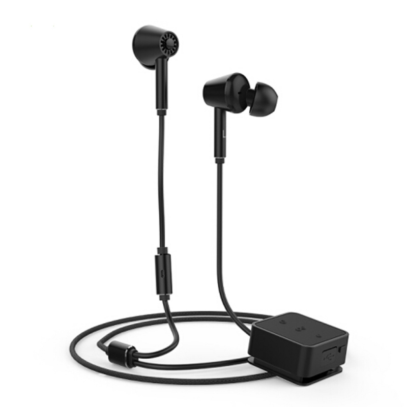 QCY - E1 無線藍牙耳機 ANC主動降噪 入耳式音樂耳機耳麥 相容蘋果安卓手機 黑色