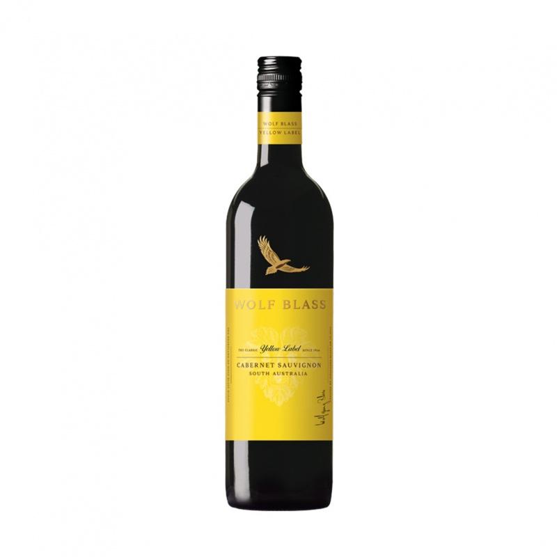 Wolf Blass Yellow Label Cabernet Sauvignon 禾富黃牌赤霞珠紅酒 2016 750ml Screw Cap - 12411068