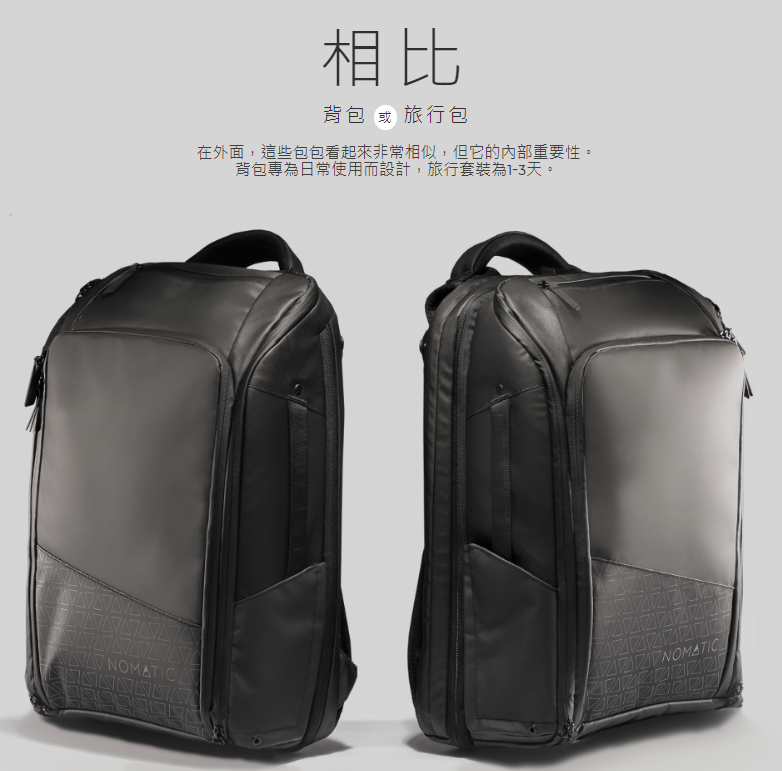 NOMATIC Everyday Backpack 20-24L