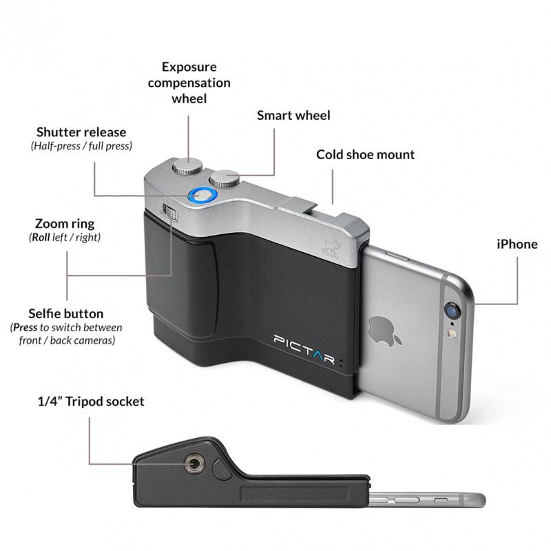 Miggo Pictar One Plus Mark II 智能手機相機手柄 [2色]
