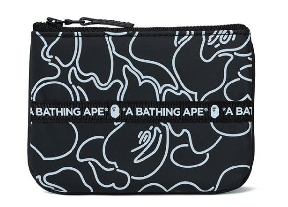 日本A BATHING APE ABC NEON CAMO TARPOULIN WALLET [2色]