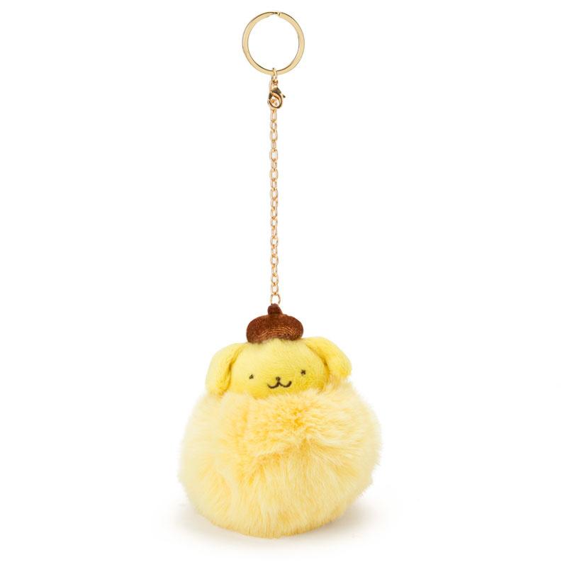日本SANRIO Hello Kitty 毛毛球鎖匙扣 [6款]
