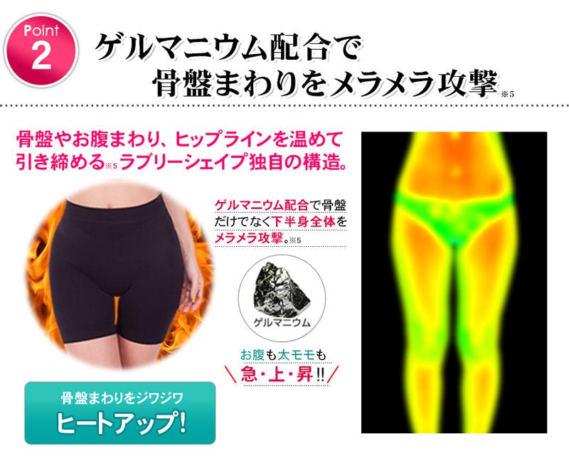 日本株式会社姫肌美粧骨盤補正パンツver4.0修身褲 [5尺寸]