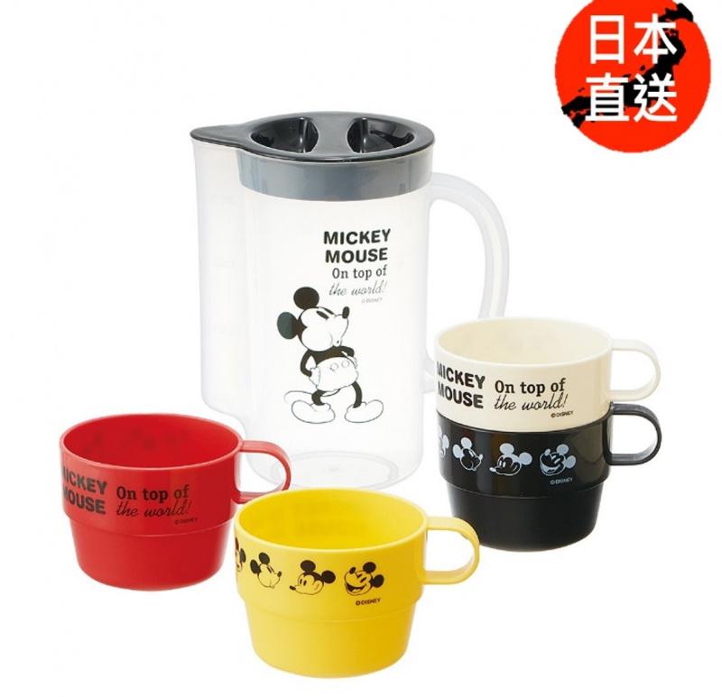米奇/迷你兵團4P杯+水壺(日本直送)