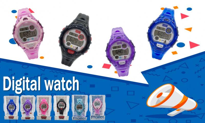 Disney迪士尼數碼電子錶