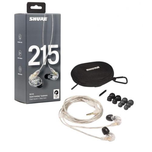 Shure SE215 入耳式隔音耳筒