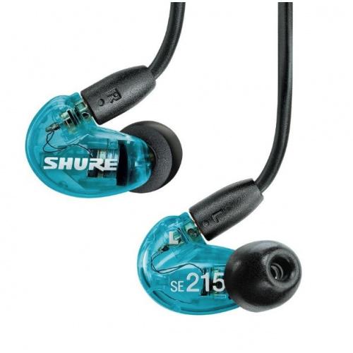 Shure SE215 Special Edition 入耳式隔音耳筒 藍色特別版