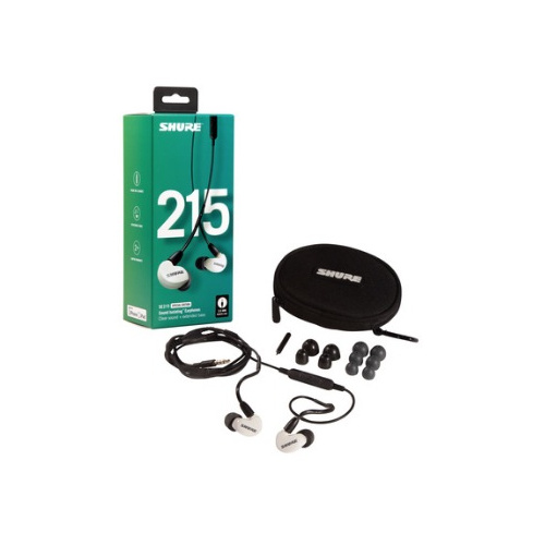 Shure SE215 Special Edition with Mic 入耳式隔音耳筒連Android/IOS 通用線控